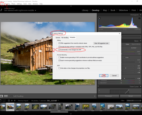 save xmp files lightroom, lightroom xmp files, adobe lightroom xmp, adobe lightroom prevent catalog crash