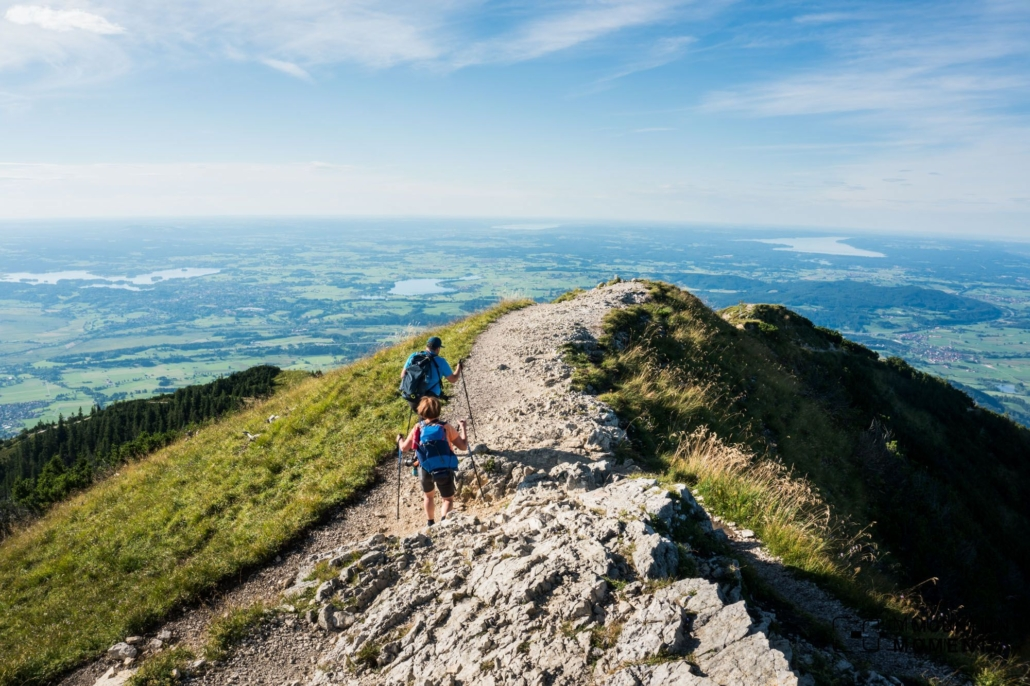 Some Herzogstand hiking trails are easier, and some do require greater experience. Good hiking equipment makes everything easier