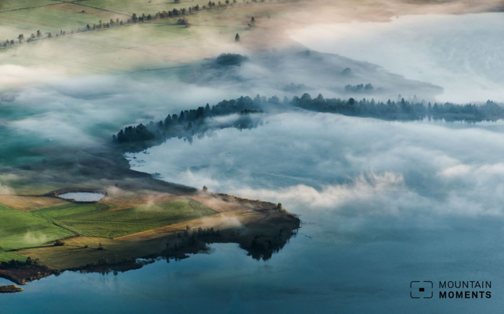 Lakes are only one of the reasons that make Herzogstand a popular hiking destination, and this photo shows why