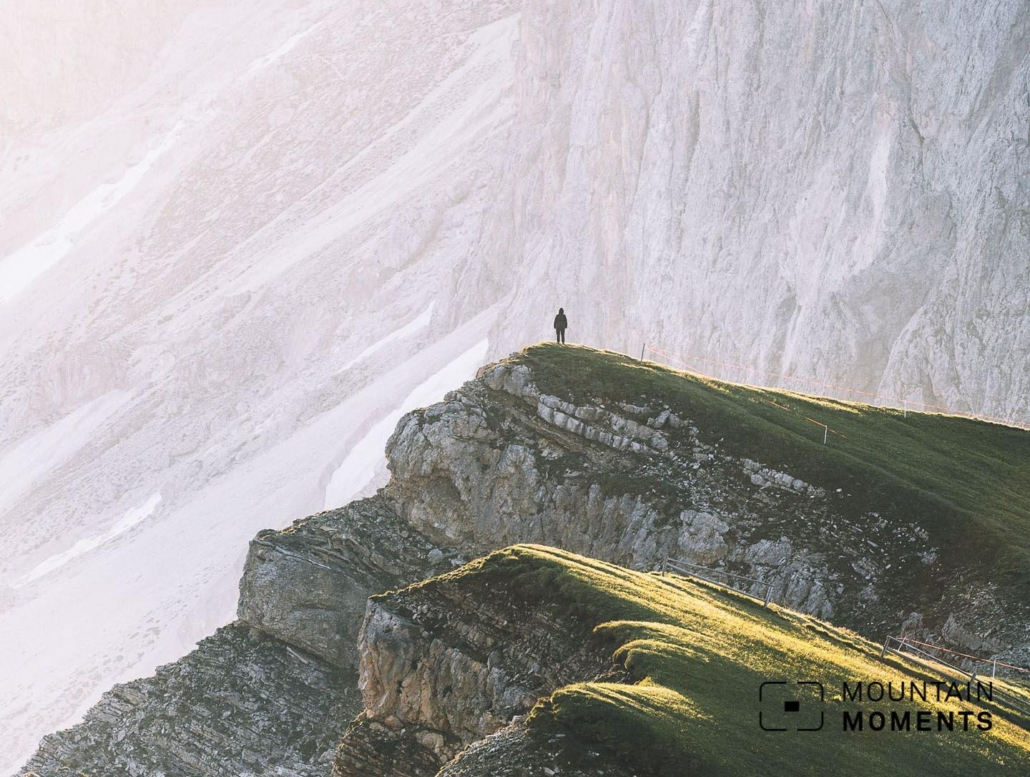 This Seceda Mountain trail is easy to medium in difficulty, which is why so many more people get to enjoy it