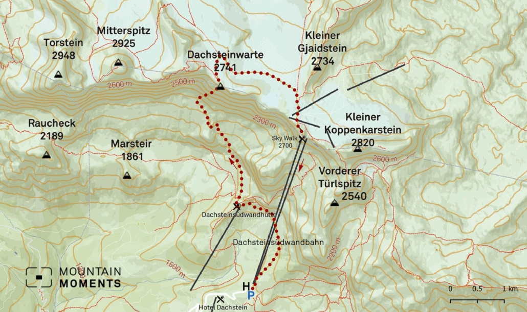 This 6-kilometer route is graded as difficult, and it requires some prior hiking experience