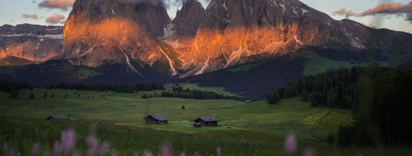 The Great Wall of Sassolungo - High-Altitude Trail in the Dolomites