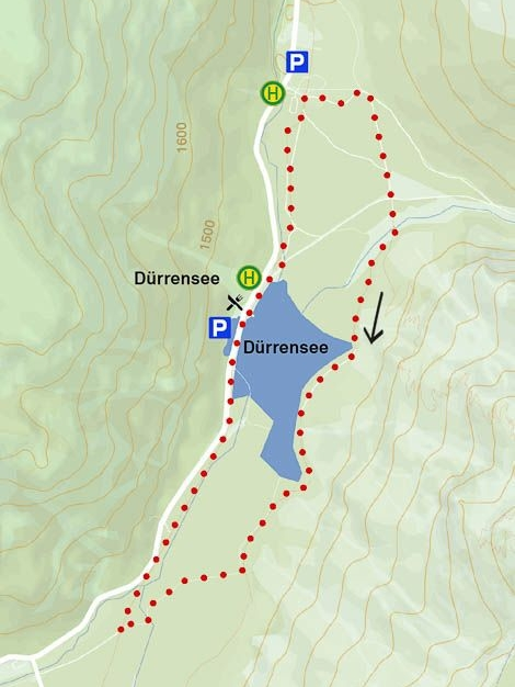 This 7-kilometer route is easy and perfect even for less experienced hikers