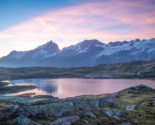 Mountain Lakes on the French Western Alps - Take a Panoramic Tour on La Meije