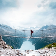 Hover Over Zillertal on a Suspension Bridge in Tyrol - Ice World Hike Mapped Out!