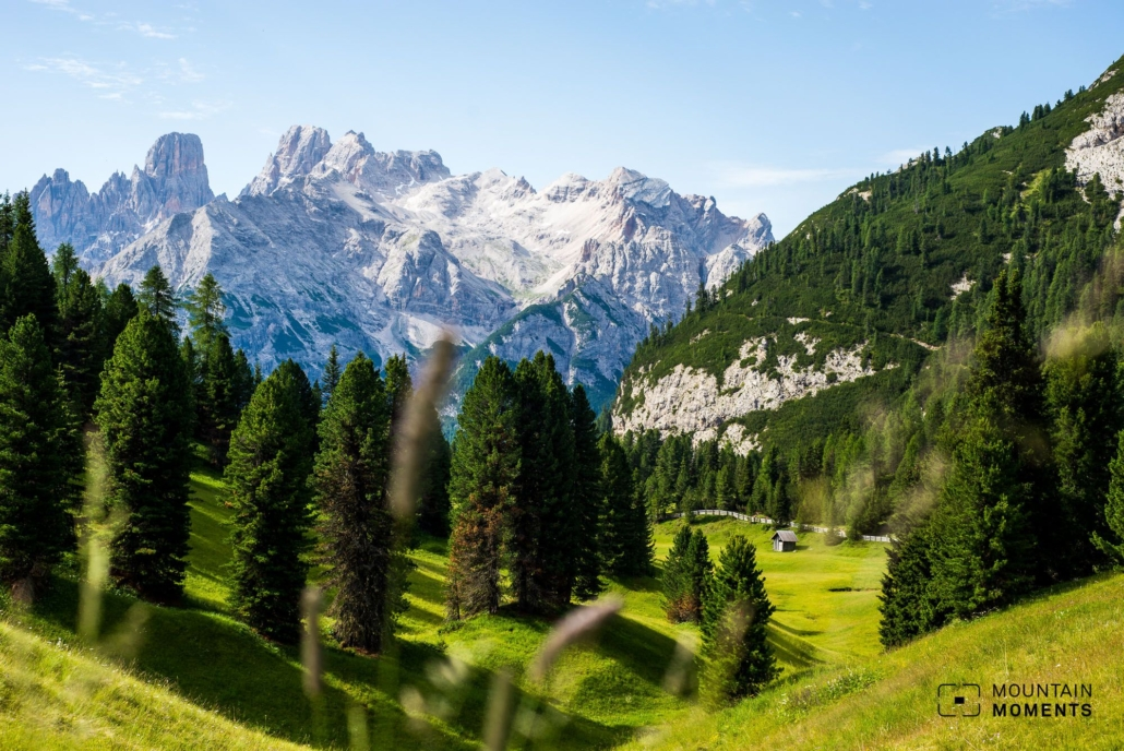 The rustic alpine pasture is especially known for its local and homemade dishes even among locals, so we recommend a stop