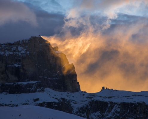 Demanding Sella Massif Climb - Use Piz Boè Peak as Photography Vantage Point