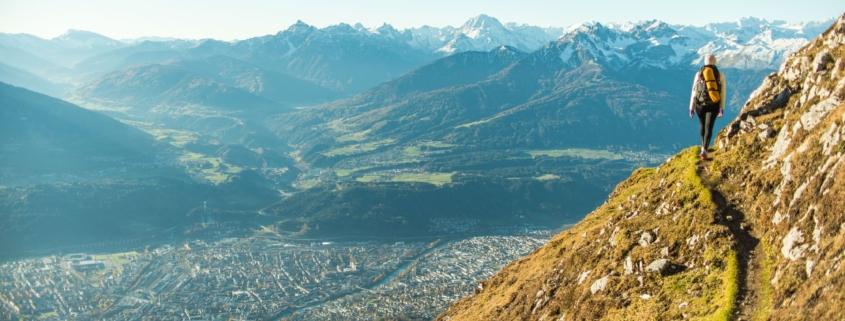 Innsbruck Climb - Caths the Picture-Perfect Karwendel Karwendel View High Above the Inn valley
