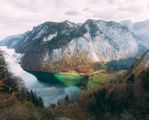 Royal Photos of King's Lake - Hiking Treasure Map to Berchtesgaden National Park