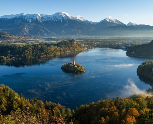 Easy Path to Bled Castle - the Most Photographed Attraction of the Slovenian Alps
