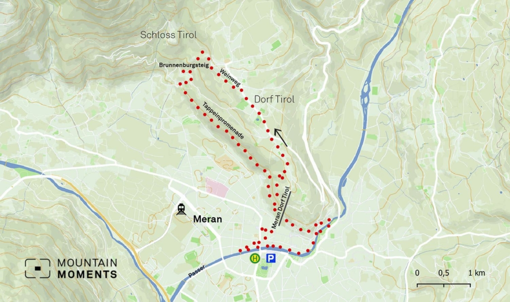 This 10.9-kilometer route can be finished in 4 hours and is graded as easy to medium on a difficulty scale