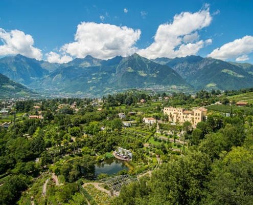 Miraculous Merano Hike - Mountains, Rivers, Vineyards, and Trauttmansdorf Castle!