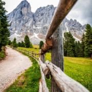 Heavenly Hike Towards Romantic Villnöss Chappel in the Heart of Dolomites