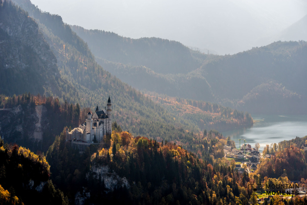 Fairytale view of Neuschwanstein Castle - Where did the photographer take this picture?  You can find out more below
