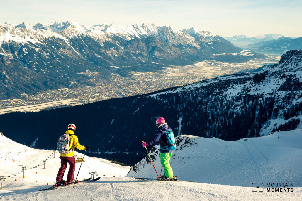 Skiing made easy: good location, good lighting, and then you're good to go! Axamer Lizum is the ski area near Innsbruck perfect for snow photography